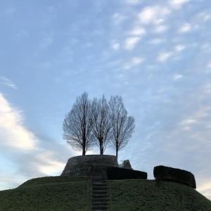 ドイツの丘から眺める冬空〜Bastion Leibfried/ライプフリードの丘〜
