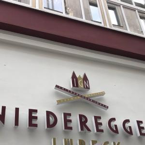 おしゃれ老舗のマジパンカフェ!〜Niederegger/ニーダーエッガー〜