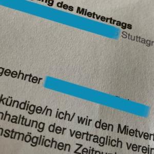 ドイツで賃貸アパートの解約/Kündigungsfrist 〜ドイツでセルフ引越し1〜
