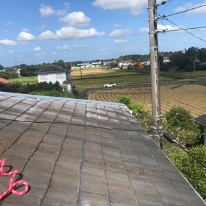 屋根のちょい修理