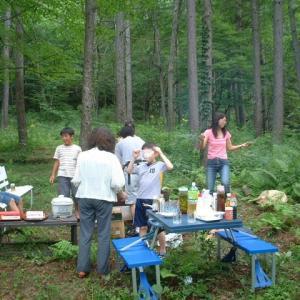 バーベキュー 北軽井沢の別荘暮らし