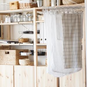インテリアに馴染む「室内物干しワイヤー」で部屋干しを便利&おしゃれに!