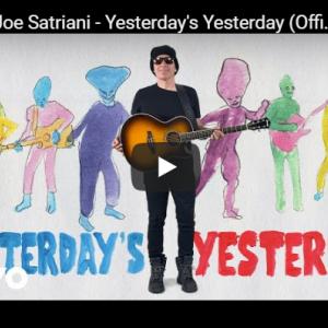 ジョー・サトリアーニ〝Yesterday's Yesterday〟