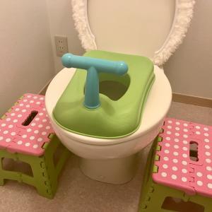 トイレトレーニング初日、楽しすぎて機を逸す(育休2日目)