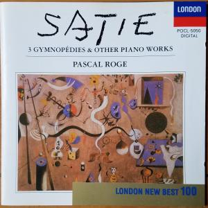 Satie:3 Gymnopédies & Other Piano Works【Pascal Rogé】