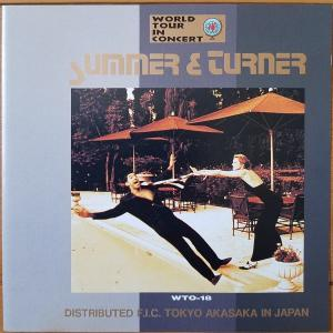 WORLD TUOR IN CONCERT DONNA SUMMER & TINA TURNER【Various Artists】