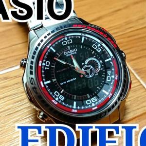 【1万円以下】CASIO EDIFICE EFA-121D-1AVEF(カシオimport)[開封・レビュー]