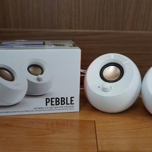 低価格で高音質なCreative Pebbleレビュー|おすすめPCスピーカーSP-PBLV2、V3との違いは?