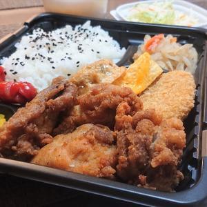 酒処・食事処 だるま@大阪・八尾【からあげ弁当】ダイエット中だけど、たまには唐揚げもイイよね~♪