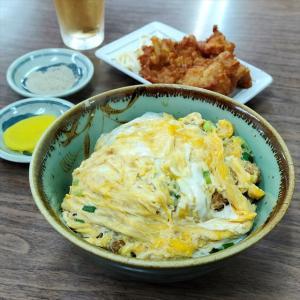 みやこ食堂@大阪・東大阪【カツ丼・とりから揚】人情味あふれる激安の一膳めしやさん~♪