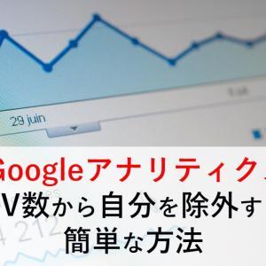GoogleアナリティクスのPV数から自分を除外【正確に確認する方法】