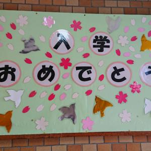 6月に無事開催された小学校の入学式