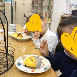 長女さん7才の誕生日、ことりカフェ心斎橋へ