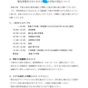 緊急事態宣言で大阪市小中学校は原則オンライン