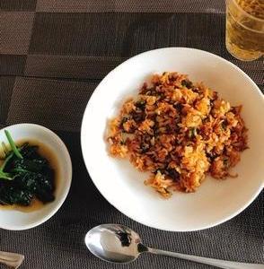 蒙古タンメン炒飯