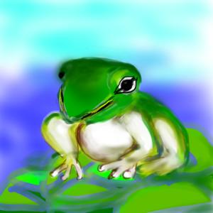 アトピーはカエルである