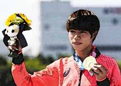 オリンピック日本勢の波に乗って…
