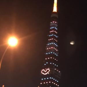 東京タワーからのラブレター♪母校の「野崎小学校」は、もうない♪