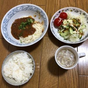ジャージャー麺風素麺♪りぼんちゃんの2歳誕生日は23歳♪