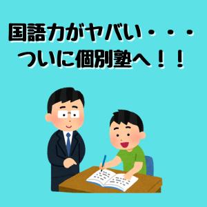 国語力が弱い小学生。ついに個別指導塾へ行かせる事にしました!