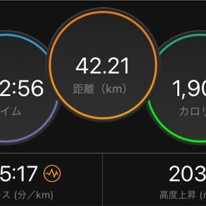 【PB更新】お一人様フルマラソン