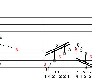 【即戦力】5弦スウィープを自由自在に操る練習術。