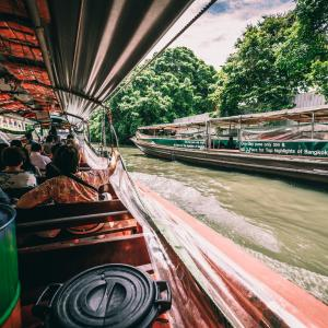 タイで日本人があまり利用しない、激安でエキサイティングな移動手段