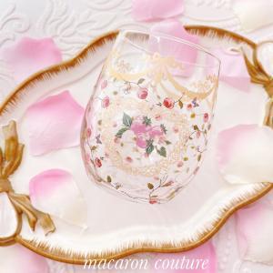 オーダー品いちごフレームガラスグラス