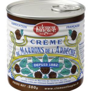 Crème de marrons を探してスーパーマーケットはしご