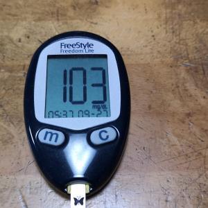 9月27日(月)今朝の血糖値と昨日の夕食