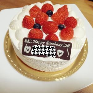 誕生日を迎えました♪(年齢非公開。笑)