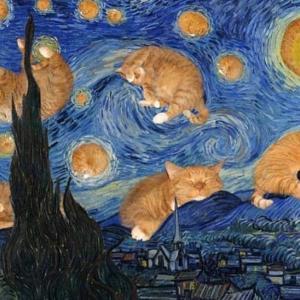 【ねこ画像】TVのワイとげんじつのワイを表現してくれる猫さん…でもキリッとしてますねwww
