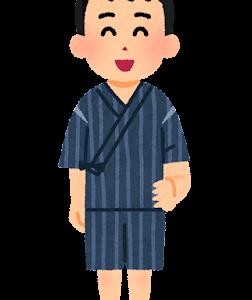 【ほのぼの】紺の甚平姿の白人のおじさんを見かけたんだけど、完全に日本に溶け込んでいたwww