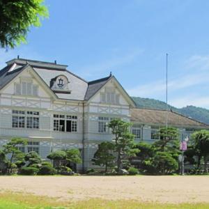 旧遷喬尋常小学校を訪ねて@岡山真庭市