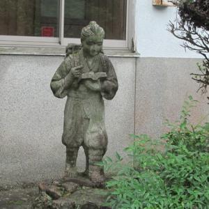 京丹波町質美小学校跡を訪ねて