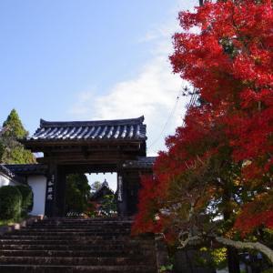 三木古刹の紅葉(2) 伽耶院