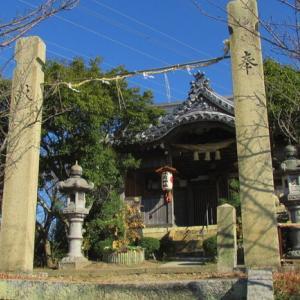 播磨灘を一望する絶景の地@木庭神社