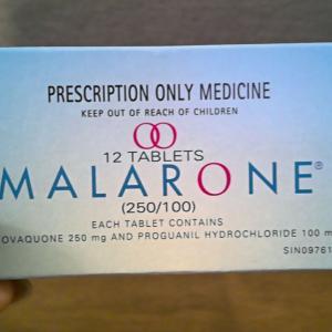ケニア旅行に向けて①~マラリア予防薬~