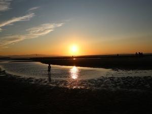大分県 真玉海岸 9月の夕陽を撮りに行って非日常を感じた話