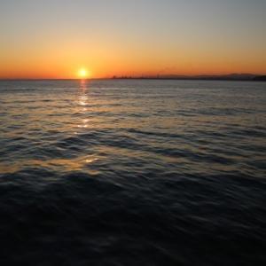 別府湾の日の出は大江戸温泉物語別府清風前が最高だった話
