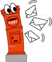 郵便物でポストがパツパツ