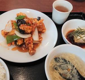 ♡風味定食屋♡で巷で噂の酢豚ランチを食べてみた~♪(#^.^#)【メグリア本店】