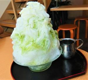 今日のおやつは♡あずき庵♡さんのかき氷~♪
