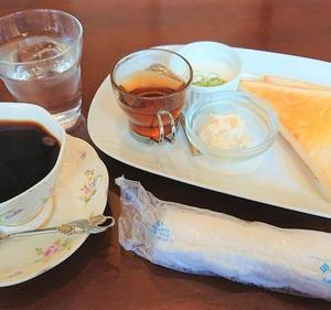 煎豆茶館 杣さんでモーニング~♪今度はホットで!!【豊田市】
