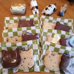 猫好き和菓子屋「櫻園」の猫クッキー(*ΦωΦ)