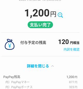 Paypayチャレンジ!