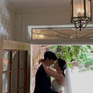 韓国でウエディング撮影
