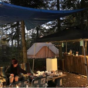 갬성(感性)キャンプ準備中
