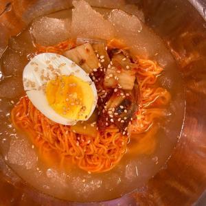 シャキシャキ氷のビビン冷麺レシピ