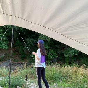 韓国で初キャンプ(忠清南道)つづき